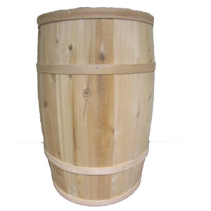 "B160 - 16"" x 27"" Cedar Whole Barrel"