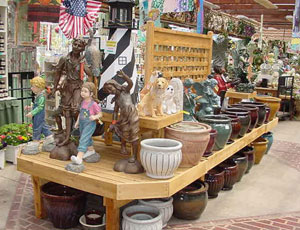 pottery-display